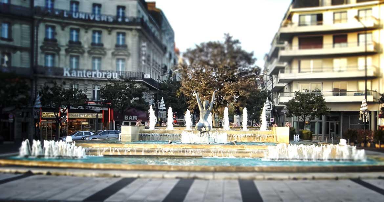 Angers place de la Gare (49)