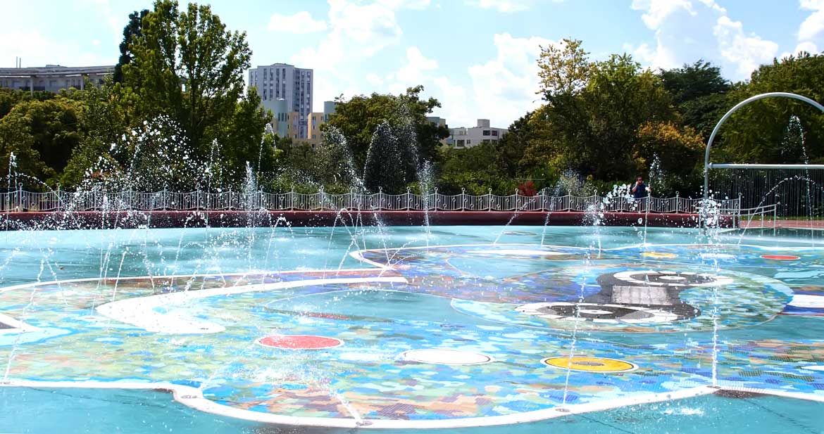 Nanterre paddling pool André Malraux (92)