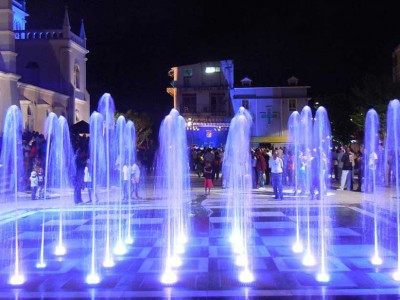 martinique dalle seche ornementale lamentin fontaine alkier nuit bleu fountain diluvial