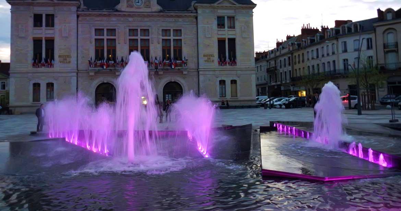 Montluçon Place Jean Jaurès (03)