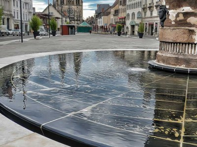 moulins allier fontaine miroir ornementale fountain diluvial