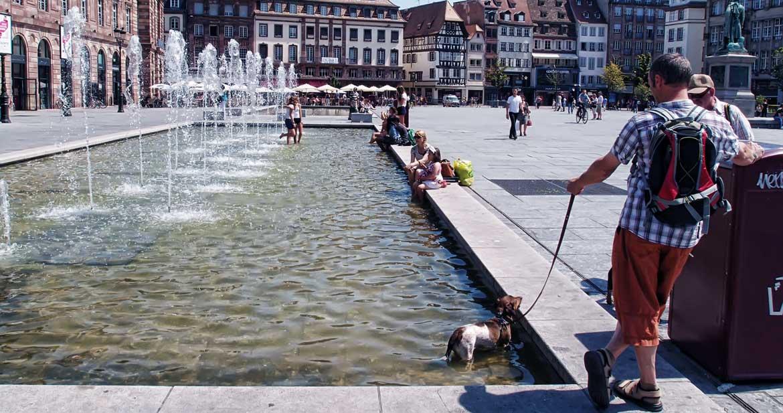 Strasbourg Place Kleber (67)