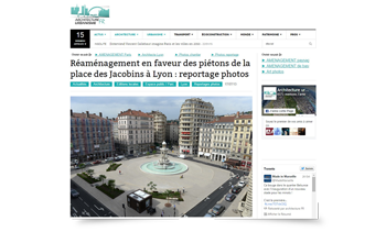 Articcle Presse fountain fontaine