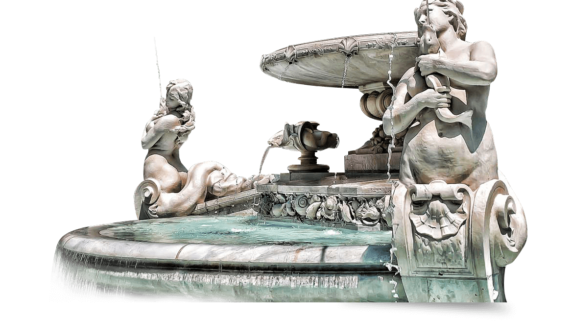 Lyon Jacobins Diluvial Fountain Water feature design