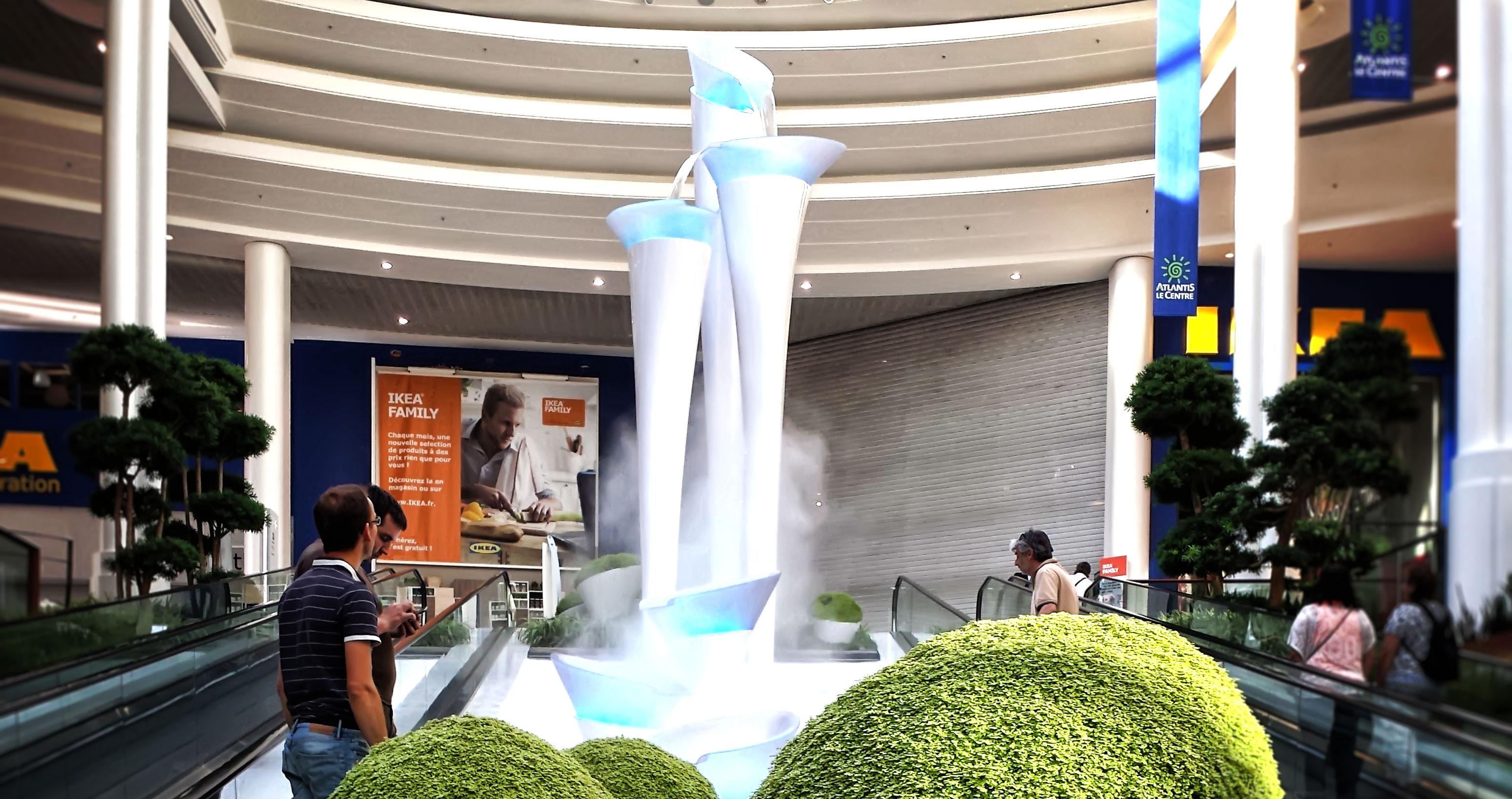 Leclerc Atlantis Mall «La Fontaine Blanche»