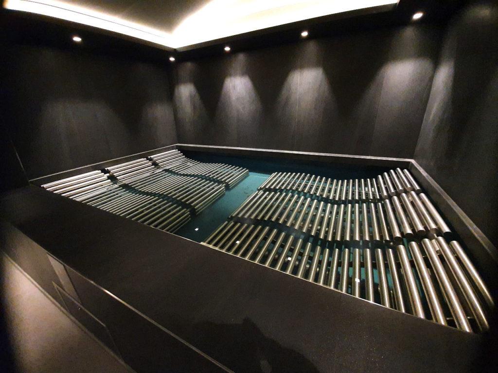 fontaine fontainerie bancs à bulle spa navale