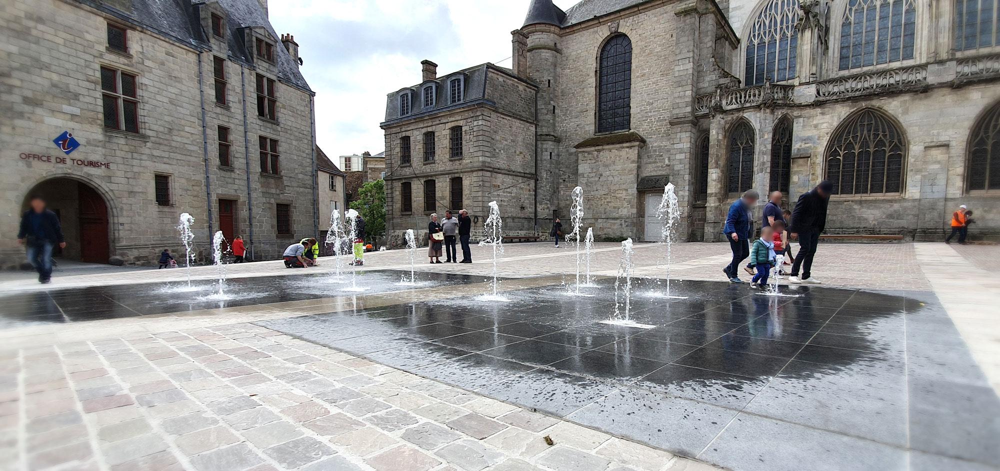Alençon Place de la Magdeleine (61)