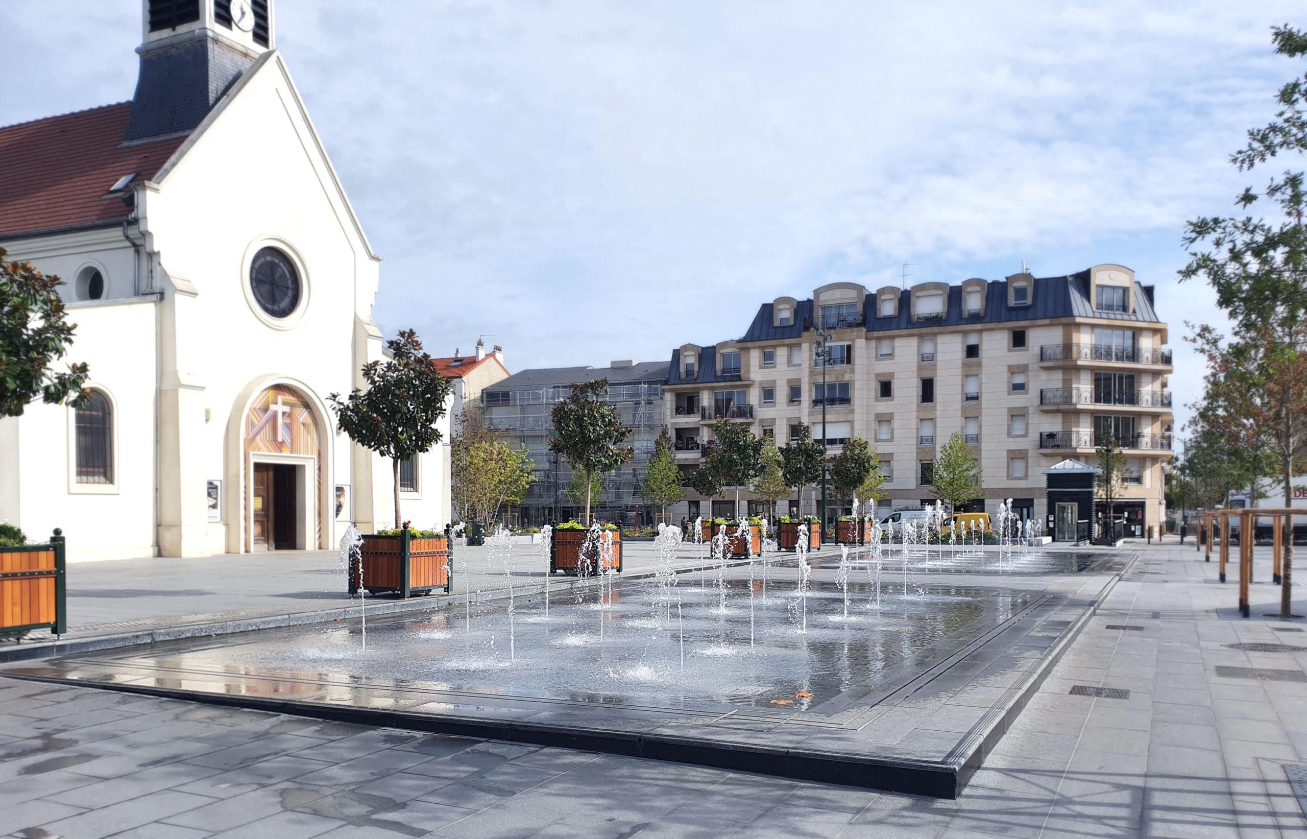 La Garenne-Colombes Place de la Liberté (92)