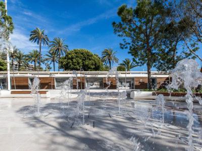 Fontaine Port Canto à Cannes