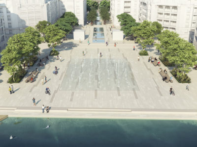 visuel, vue générale fontaines zac panorama spla