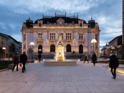 fontaine de la Vigne Mâcon place Genèves